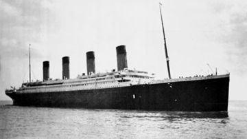 El transatlántico Titanic