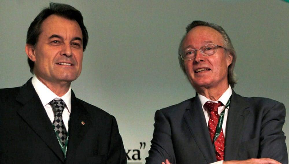 Artur Mas y Josep Piqué