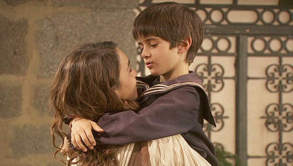 Martín se reconcilia con Pepa