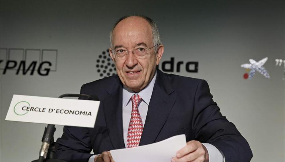 Miguel  Fernández Ordóñez, gobernador del Banco de España