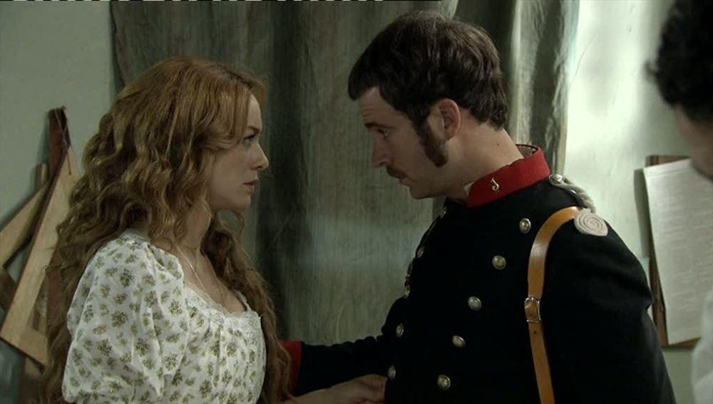 Miguel le pide a Sara que no denuncie, tiene un plan para cazar al violador