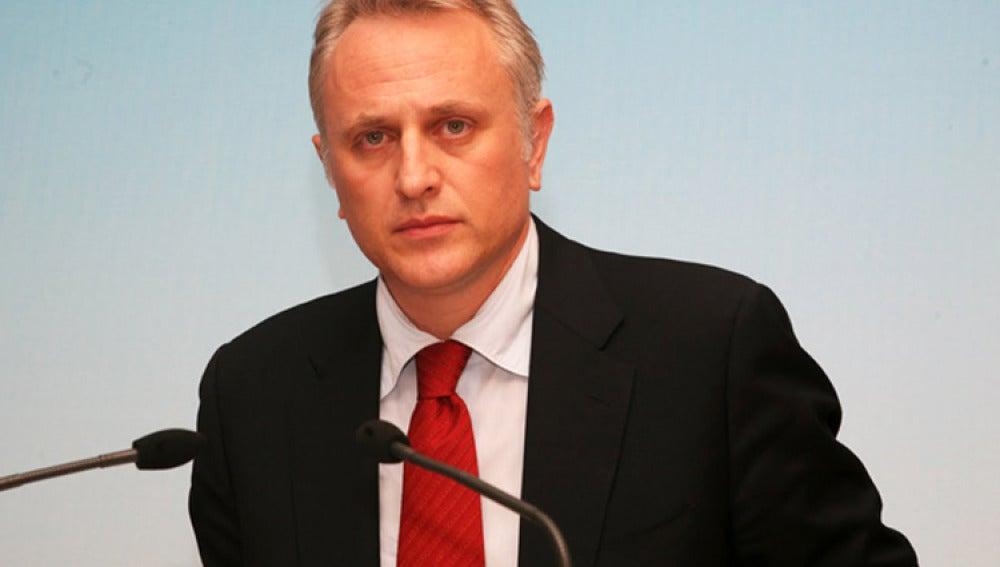 El ministro del Interior griego, Yiannis Ragousis.