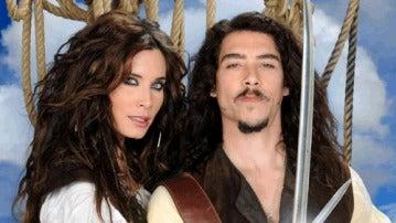 Pilar Rubio y Óscar Jaenada