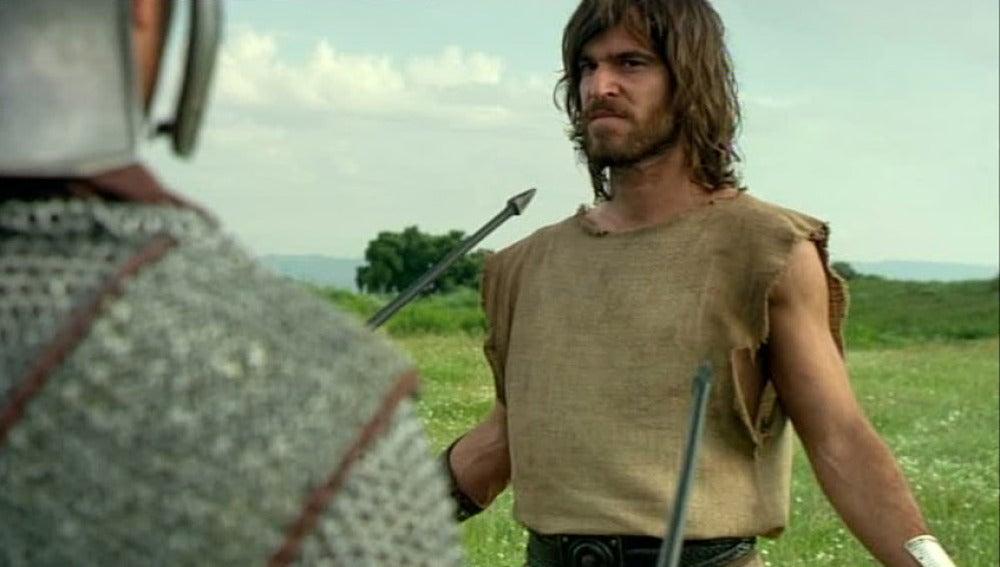 Darío se entrega a Roma