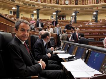 Zapatero, en el Congreso