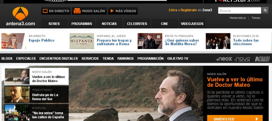 Antena 3 tv la web l der de las - Armario de la tele antena 3 ...