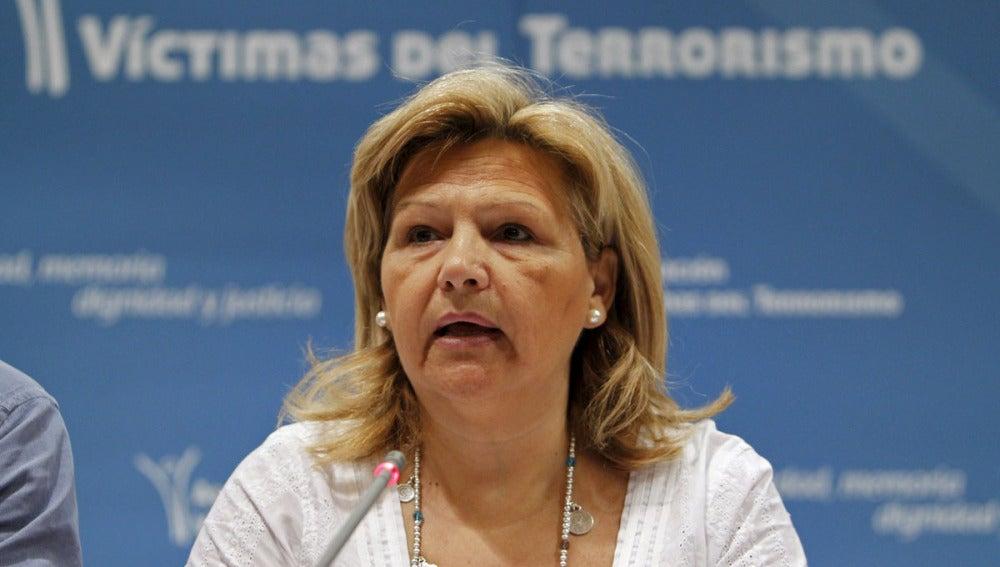 La presidenta de la Asociación de Víctimas del Terrorismo (AVT), Ángeles Pedraza