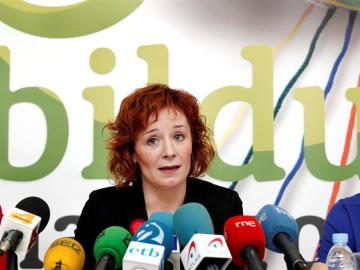 La cabeza de lista de Bildu al Ayuntamiento de Pamplona, Eva Arangure
