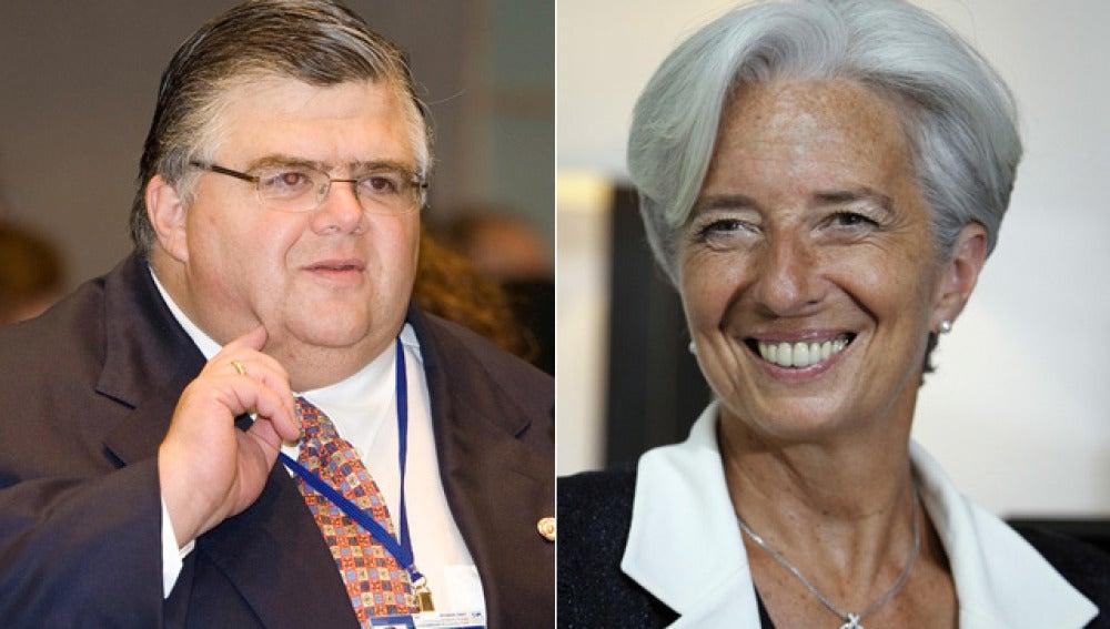Lagarde y Carstens, candidatos a dirigir el FMI
