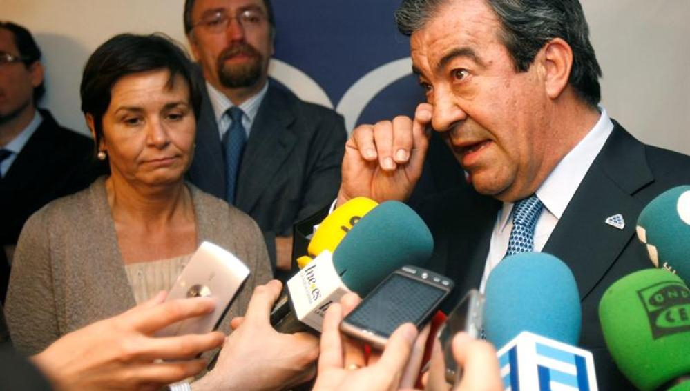 El presidente de Foro Asturias (FAC), Francisco Álvarez-Cascos