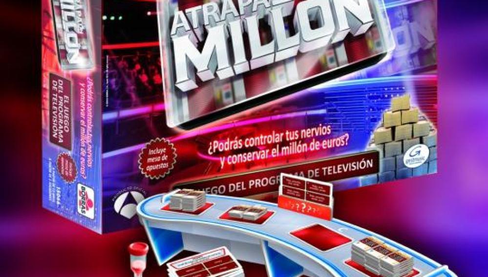 Juego de mesa Atrapa un millón