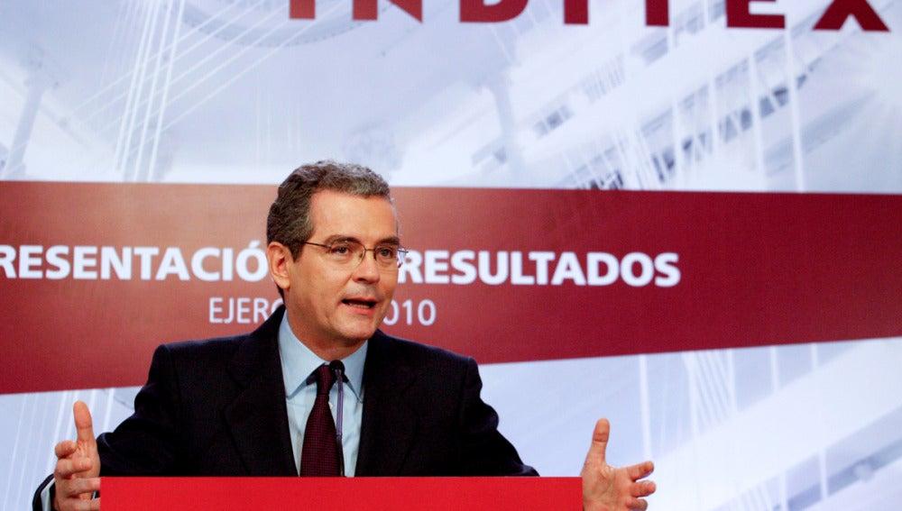 El consejero delegado y vicepresidente de Inditex, Pablo Isla