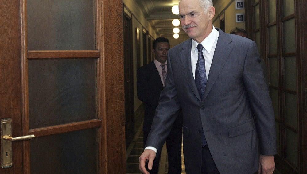 Yorgos Papandréu, primer ministro griego