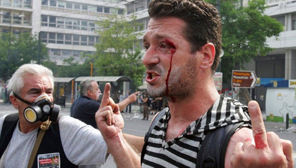 Jornada de huelga y revueltas en Grecia