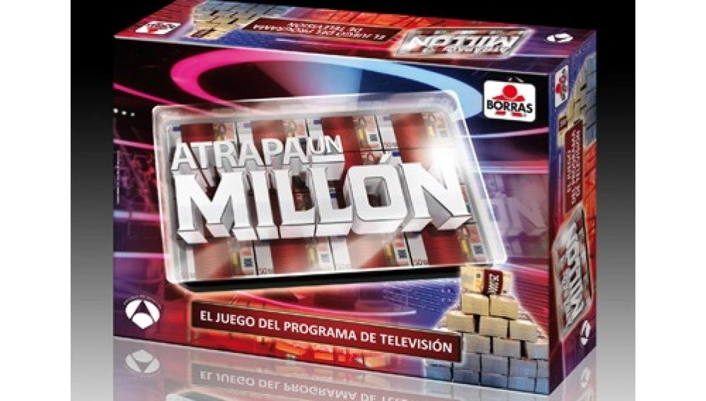 Juego de mesa 'Atrapa un millón'