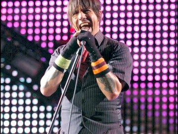 El cantante de Red Hot Chili Peppers Anthony Kiedis.