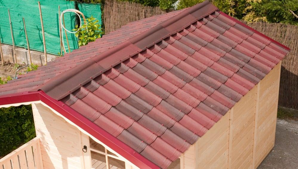 Colocar un tejado