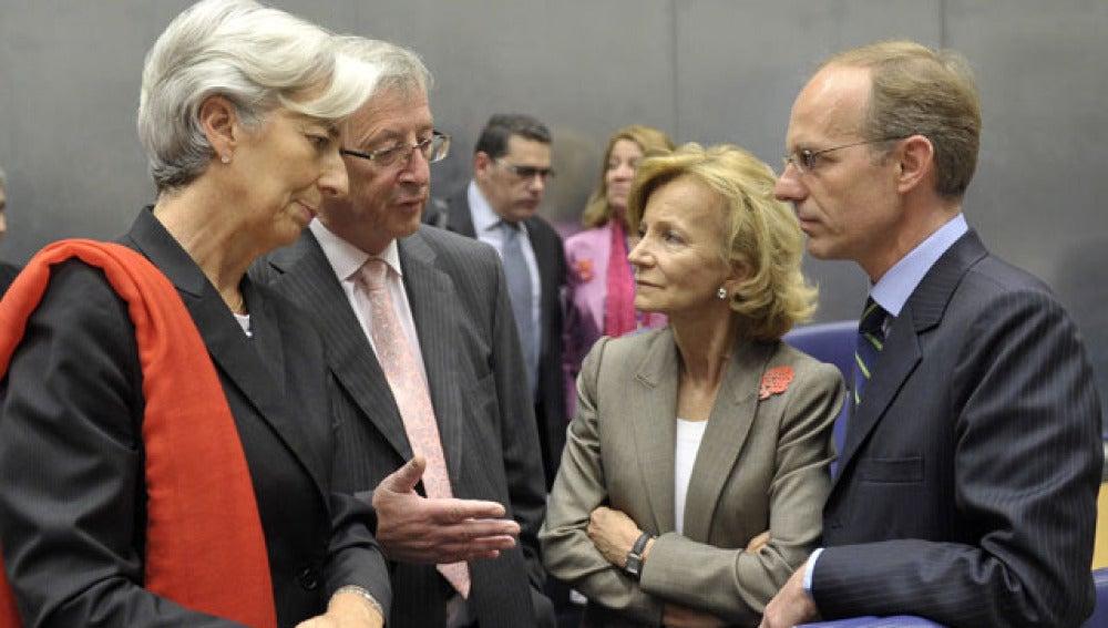 Reunión de los ministros del Eurogrupo