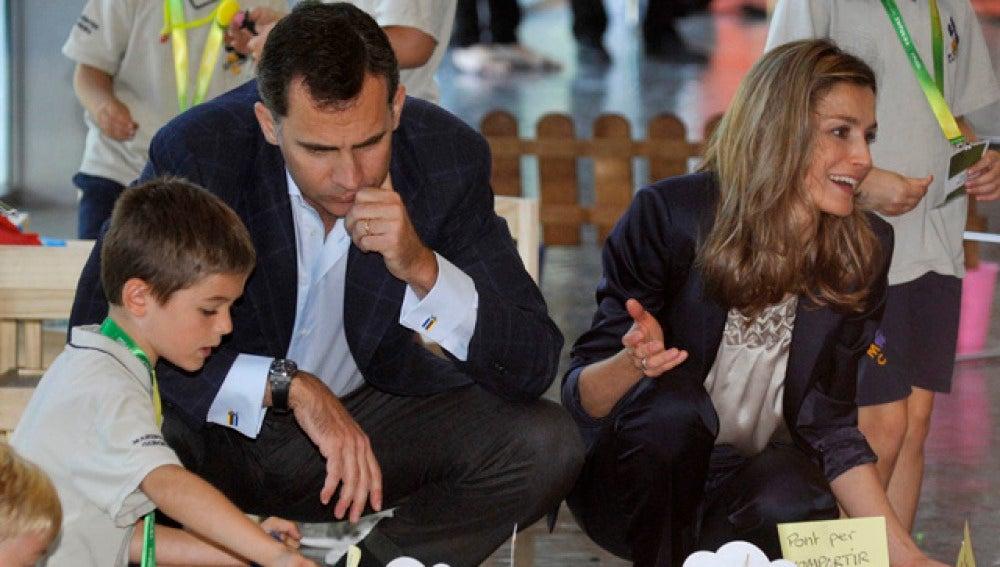 Los Príncipes de Asturias en el Foro Impulsa