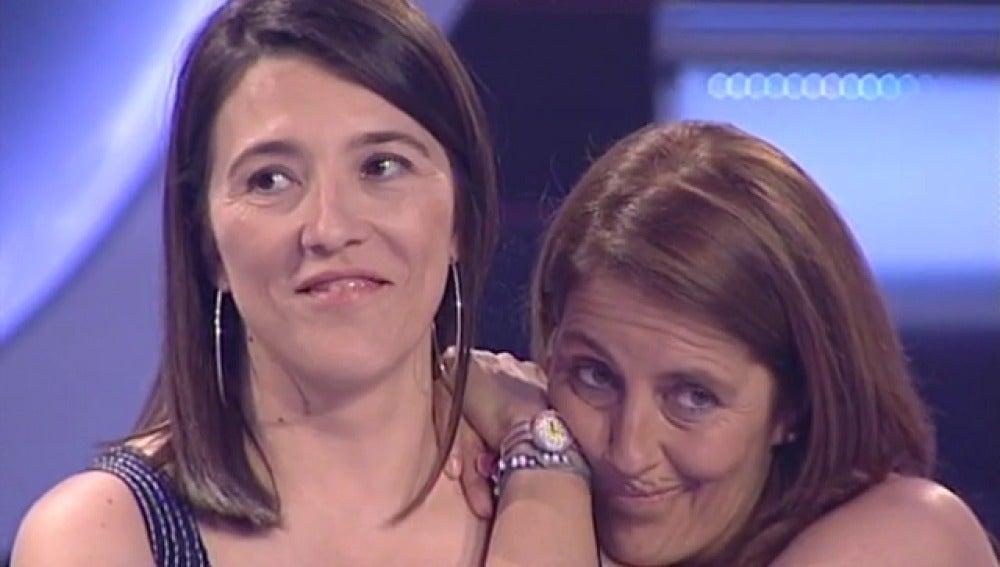 Isabel y Beatriz en Atrapa un millón