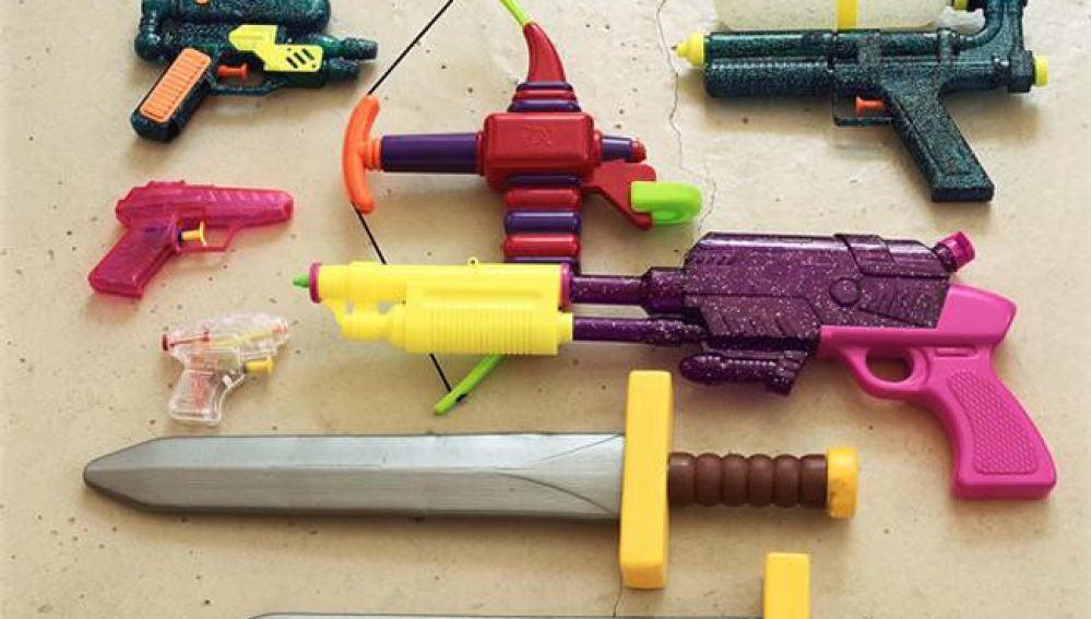 El menor confundió la pistola con una de juguete