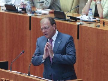 El candidato del Partido Popular, José Antonio Monago