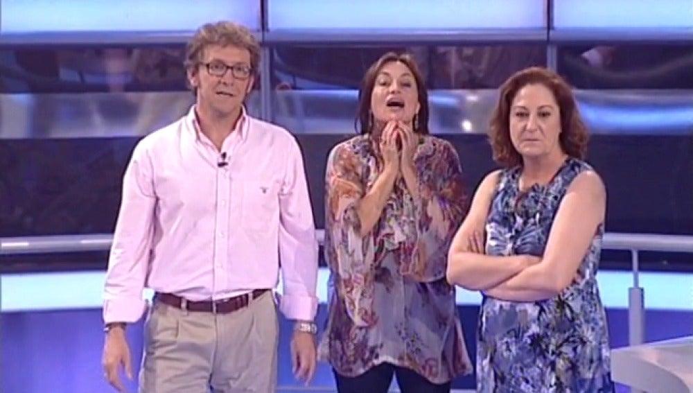 Rosario Pardo en Atrapa un millón