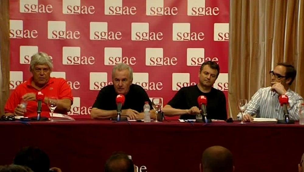 La junta directiva de la SGAE