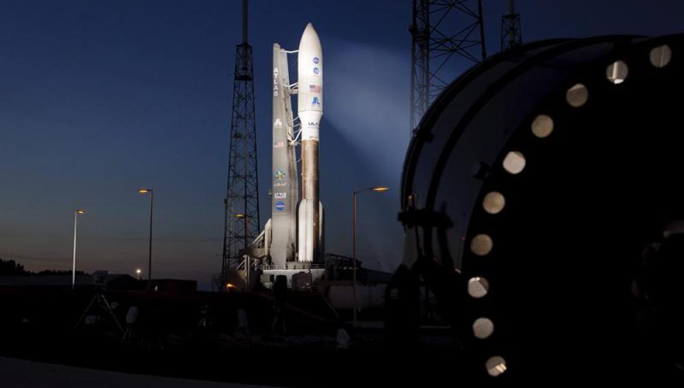 El cohete Atlas V y la nave espacial de carga Juno
