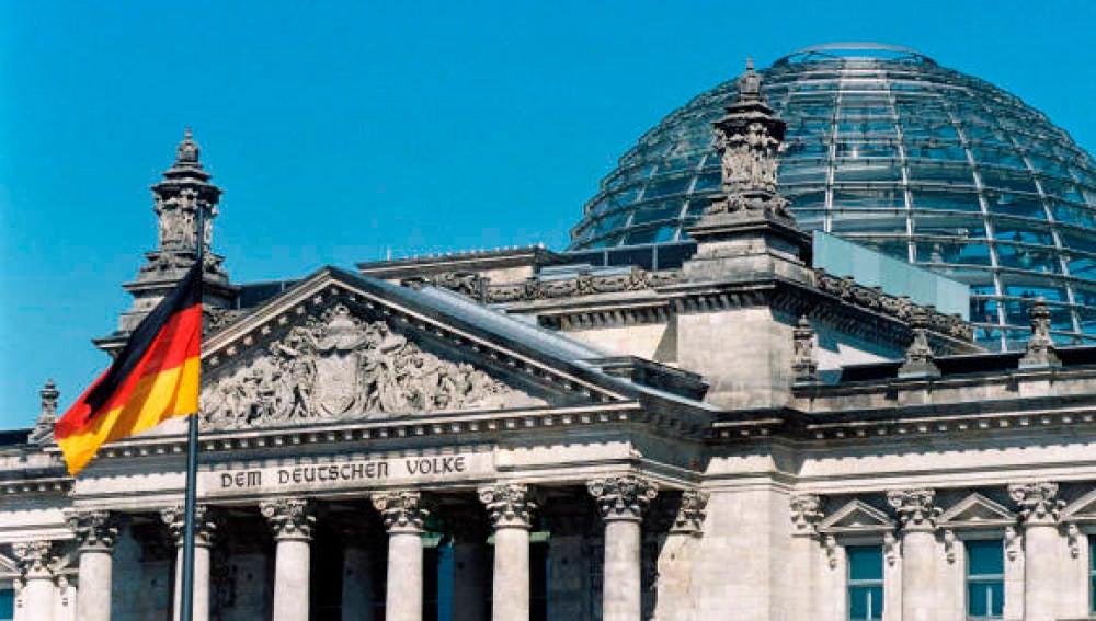 El Reichstag, parlamento alemán