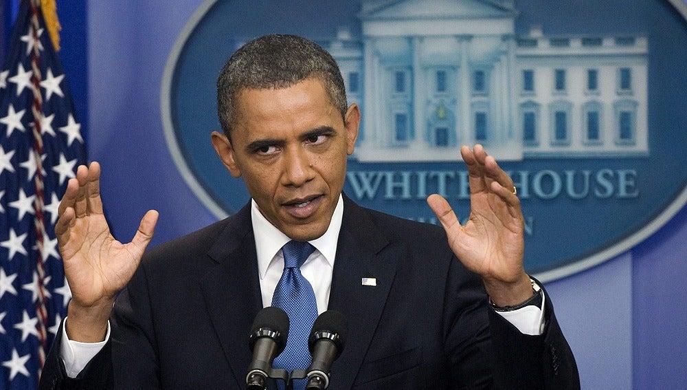 Barack Obama, sobre el techo de gasto