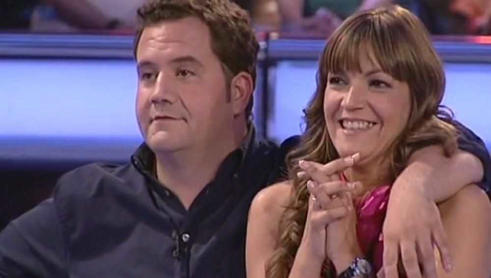 Maika y Juan en Atrapa un millón