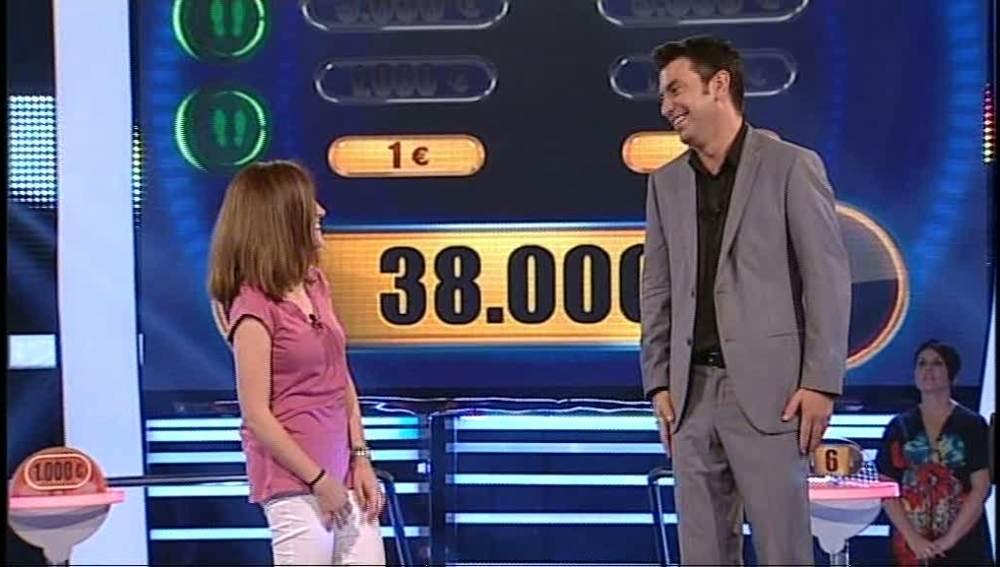 ¡Amaia gana 38.000 euros!