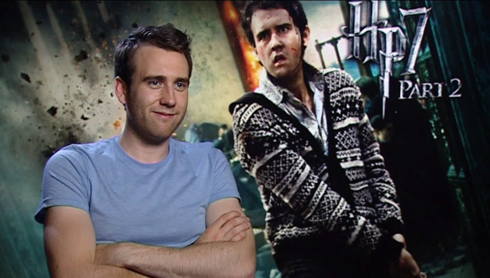 El actor Matthew David Lewis interpreta a Neville