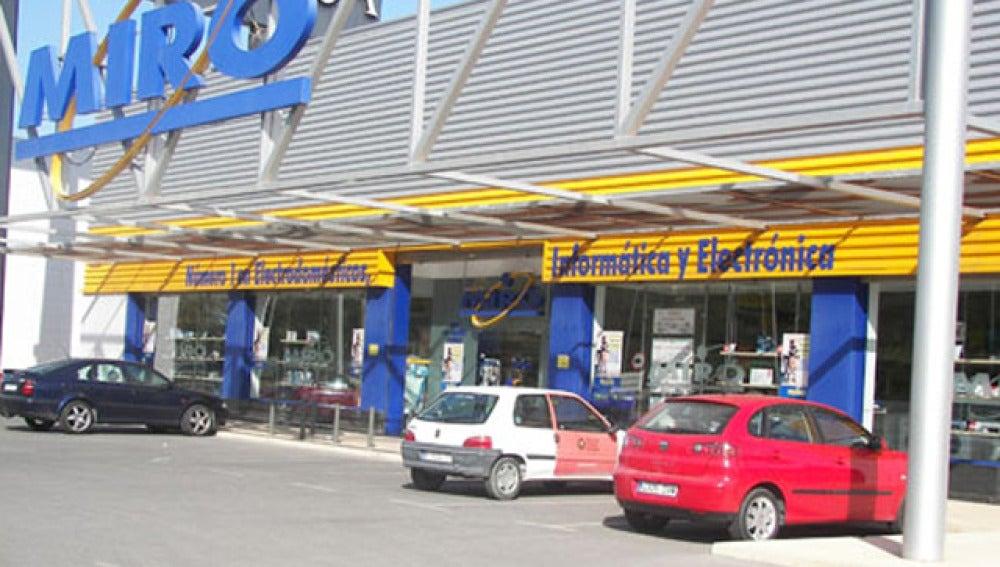 Una de las tiendas de la cadena Miró