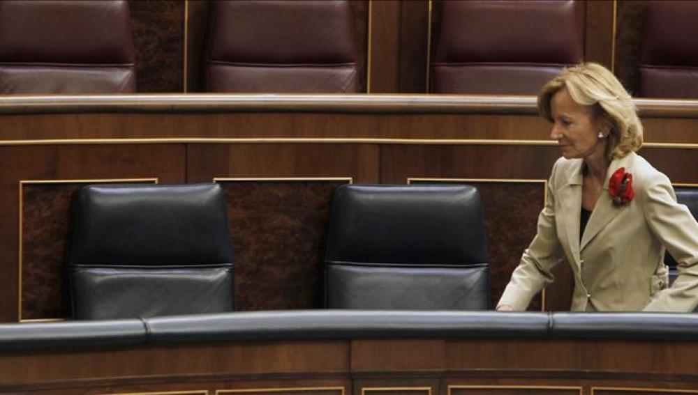 Salgado, en el Congreso de los Diputados