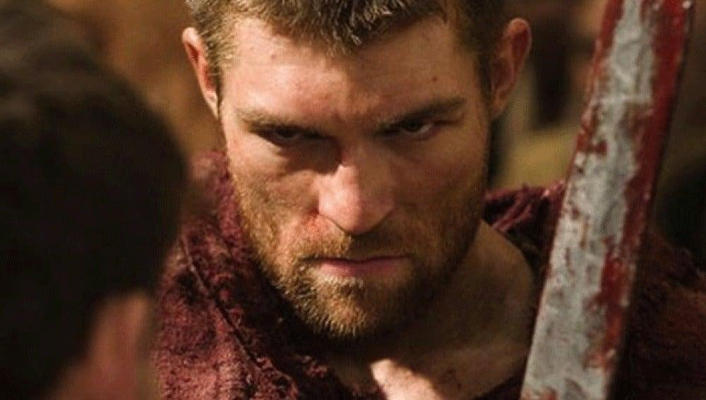 Liam McIntyre, el nuevo Spartacus