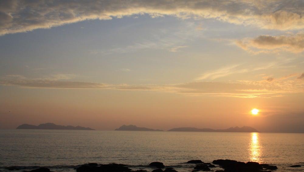 Puesta de Sol en Islas Cíes