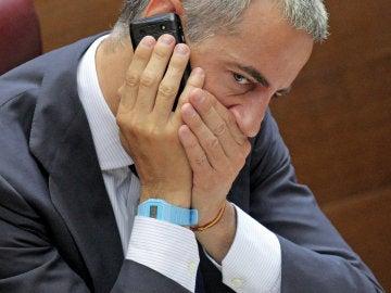 Ricardo Costa en las Cortes Valencianas