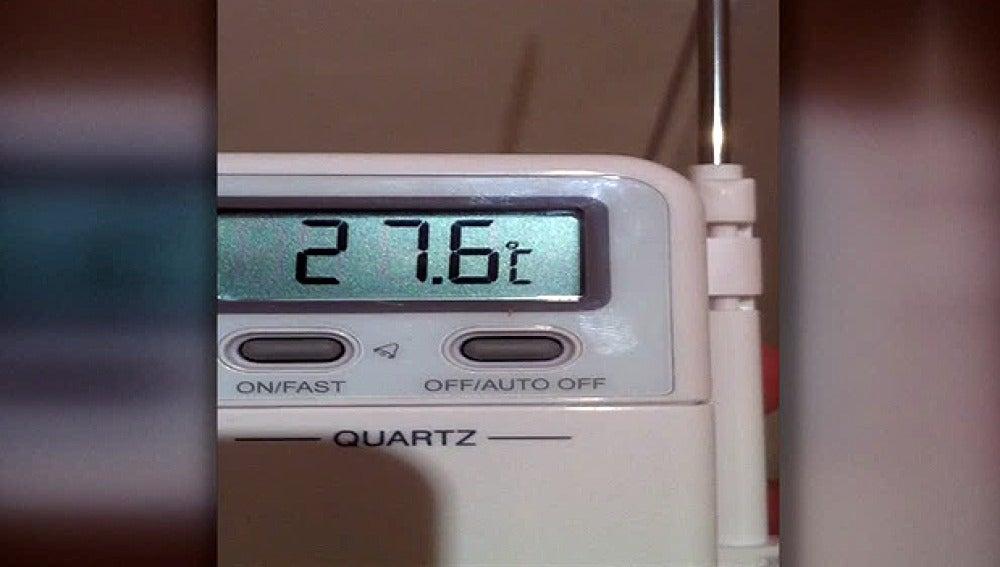La temperatura en los ministerios