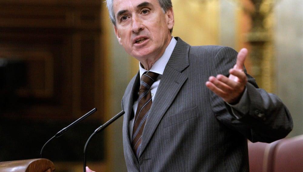 El ministro de la Presidencia, Ramón Jáuregui.