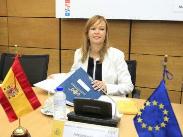 Leire Pajin, exministra de Sanidad