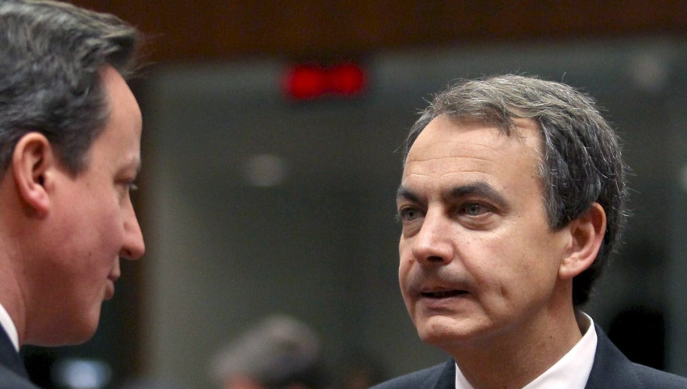 Zapatero se verá con Cameron el lunes