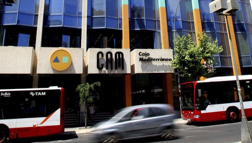 Sede de la CAM en Alicante