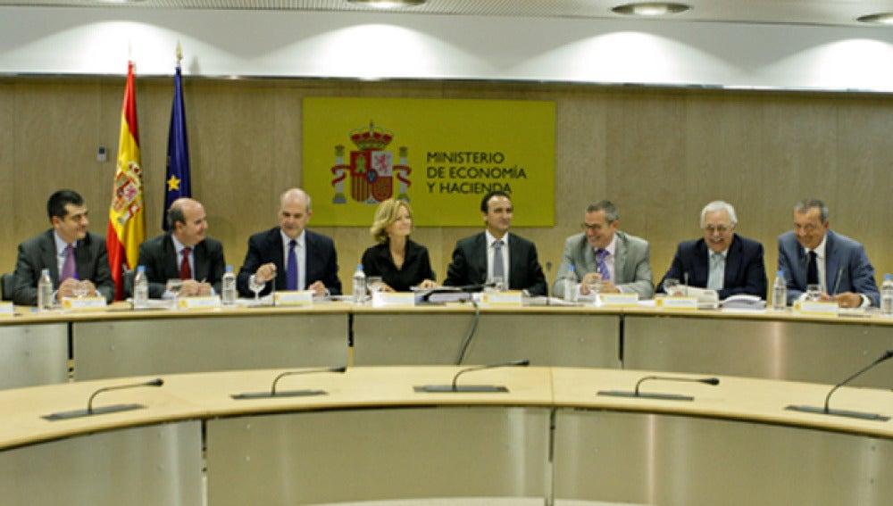 Consejo de Política Fiscal y Financiera reunido