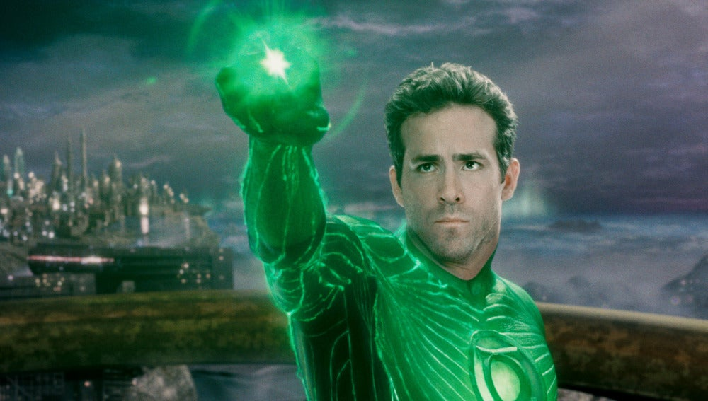 """Ryan Reynolds metido en el papel del otro """"Linterna Verde"""", Hal Jordan"""