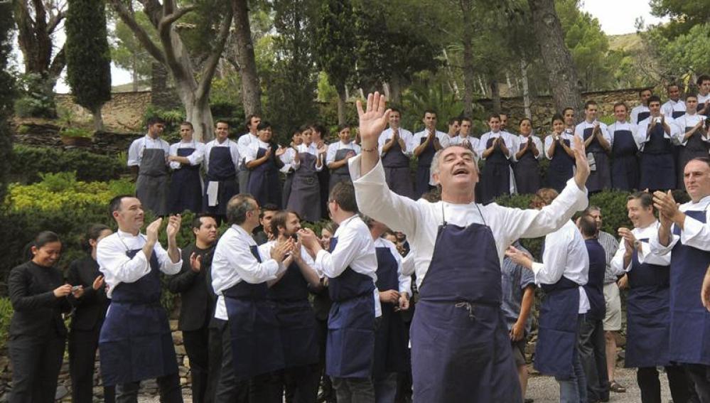 Ferran Adrià, de fregaplatos a jefe del restaurante más famoso del mundo