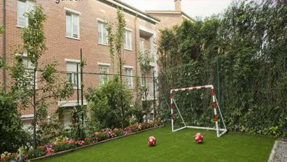 Un jardín infantil