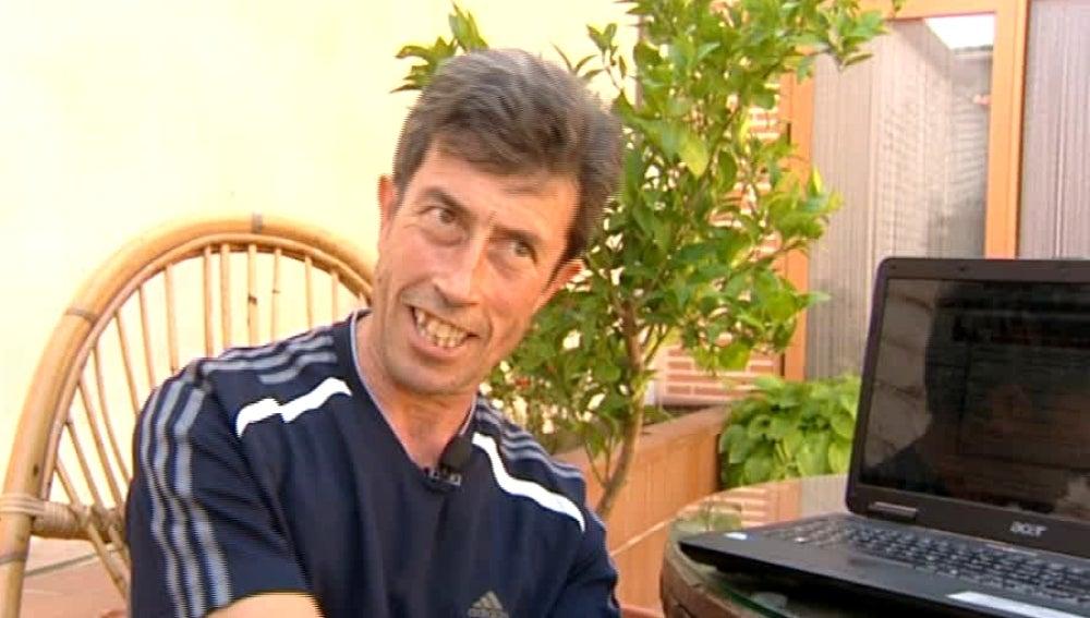 Alberto, enfermo de parkinson