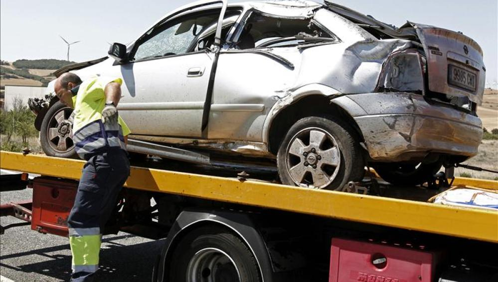 Fallecen dos personas en un accidente en Monreal de Ariza